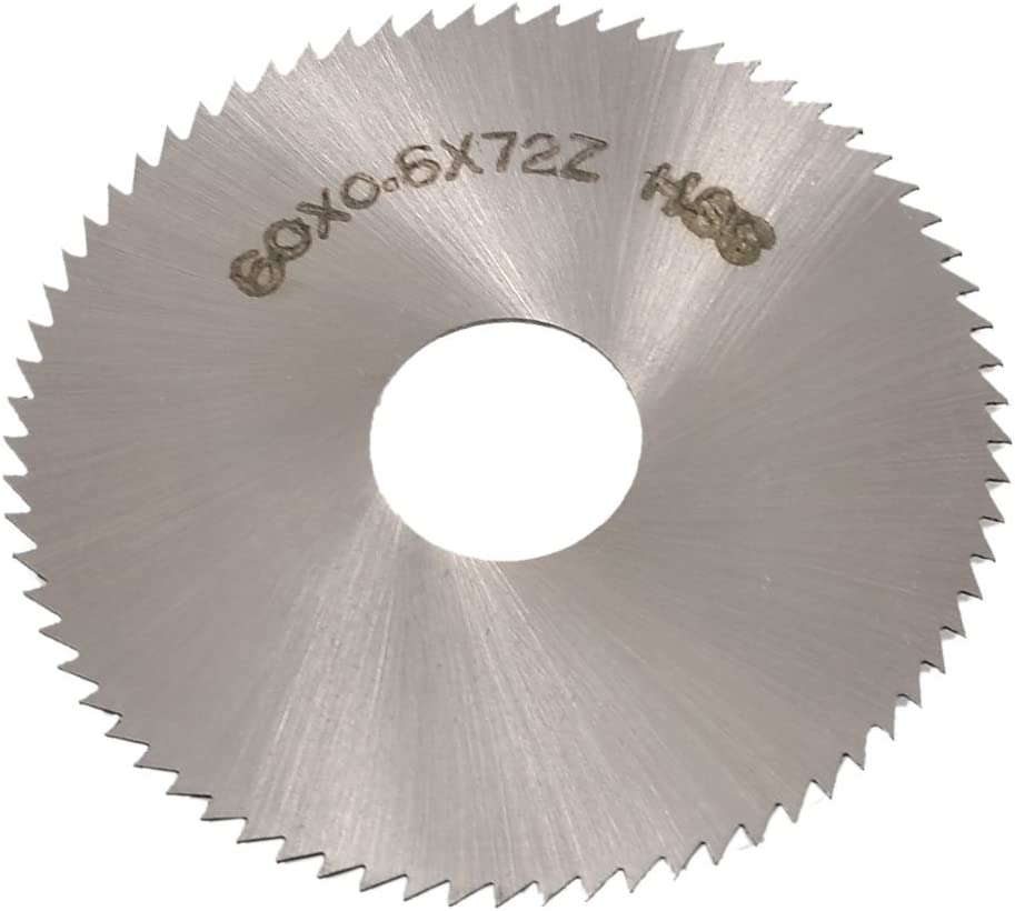 UK STOCK 60mm HSS Saw Blade Cut Off Cutting Wheel Disc with Mandrel Power Tool