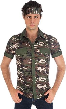 Camiseta de safari Manuel para hombre – Camuflaje – Para ...