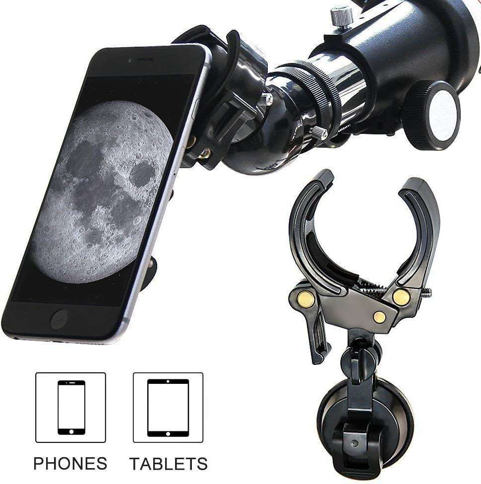 Monocular and Telescope Universal Support Cup Adapter Compatible with 27mm-53mm Diameter Eyepiece Mount Universal Phone for Binocular