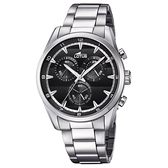 Lotus Chronograph 18365/4 Reloj de Pulsera para hombres muy deportivo