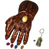 Avengers 4 Endgame Thanos Infinity Gauntlet LED Magnetic Removable Gems