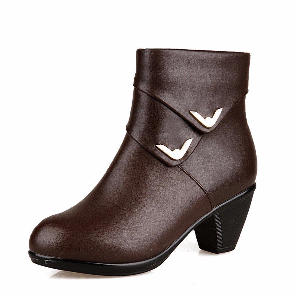 HXVU56546 Herbst Und Winter Gepolsterte Große Schuhe Künstliche Baumwolle Baumwolle Schuhe Stiefel Mode