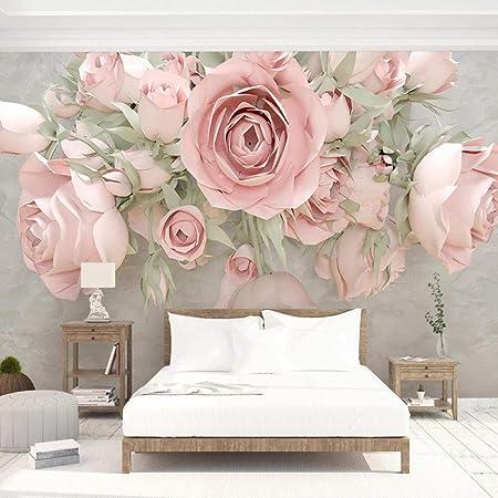 Custom 3D Flower Photo Wallpaper