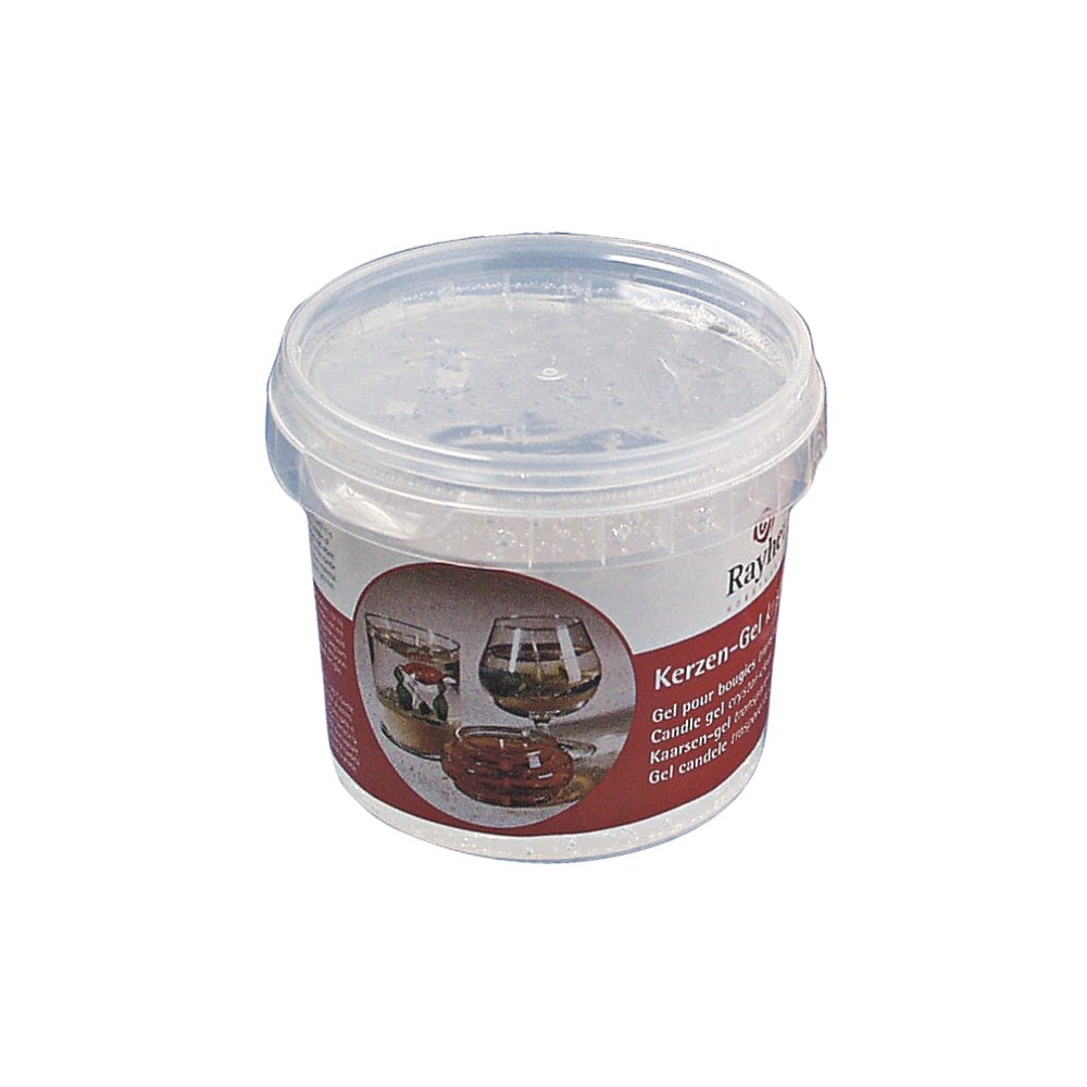 Rayher Candle Gel, Transparent, 300 g, 365 ml Rayher Hobby GmbH 3130000