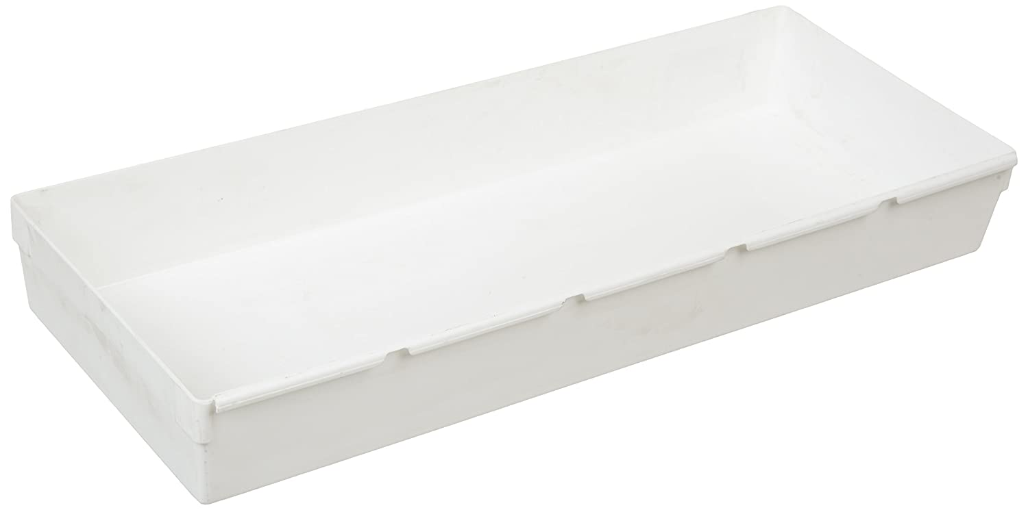 Rubbermaid, White Drawer Organizer, 15 by 6 by 2-Inch, inch by 6-inch