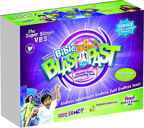 Bible Blast to the Past VBS Kit (Vacation Bible School (VBS) 2015: Bible Blast to the Past - Discovering God's Ev)