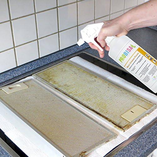 Potente desengrasador de spray probisa Micro Grease Power – La fuerza limpiador a base de Natural para cocina, hogar y hoteles (50ml concentrado producen 1 – 2 Litros de Super limpiador): Amazon.es: