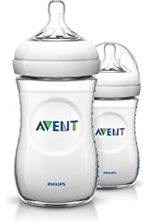1 x 60 ml Philips Avent SCF699//17 Naturnah-Flasche transparent 1er Pack
