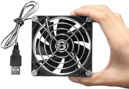 8cm Ventilador de refrigeración USB disipador térmico para PC PC ...