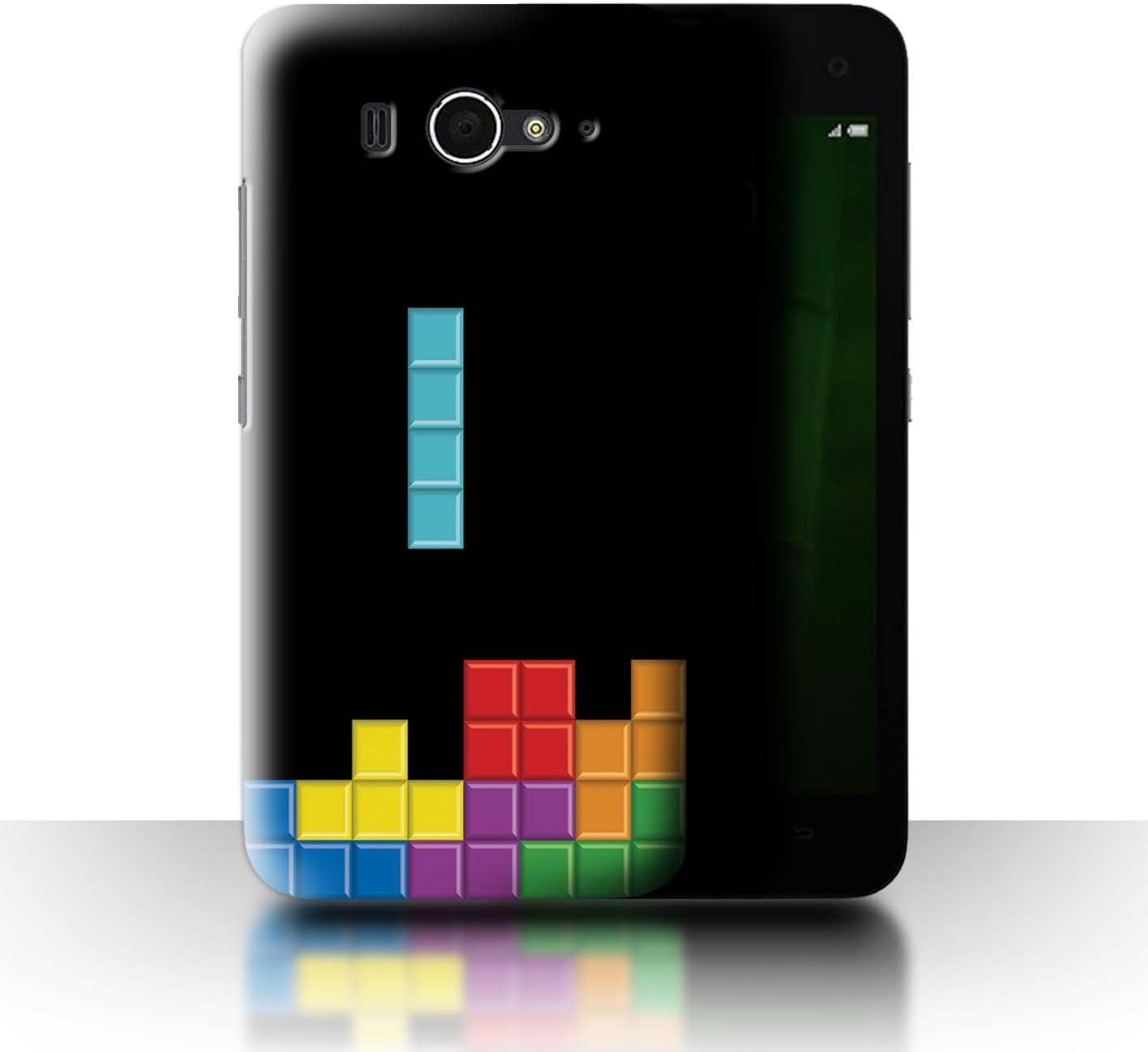 Stuff4® Phone Case/Cover/Skin/Xia de CC/Retro Arcade Games Collection Block-Puzzle Xiaomi Redmi Note 4G: Amazon.es: Informática