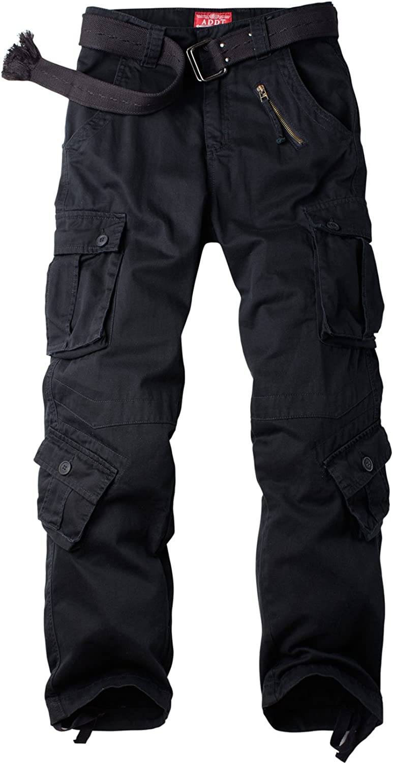 Womens Cotton Casual Military Army Cargo Combat Work Pants with 8 Pocket