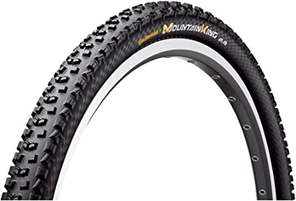 NEW!! CONTINENTAL MOUNTAIN KING PROTECTION TUBELESS BICYCLE TIRE 27.5 X 2.2