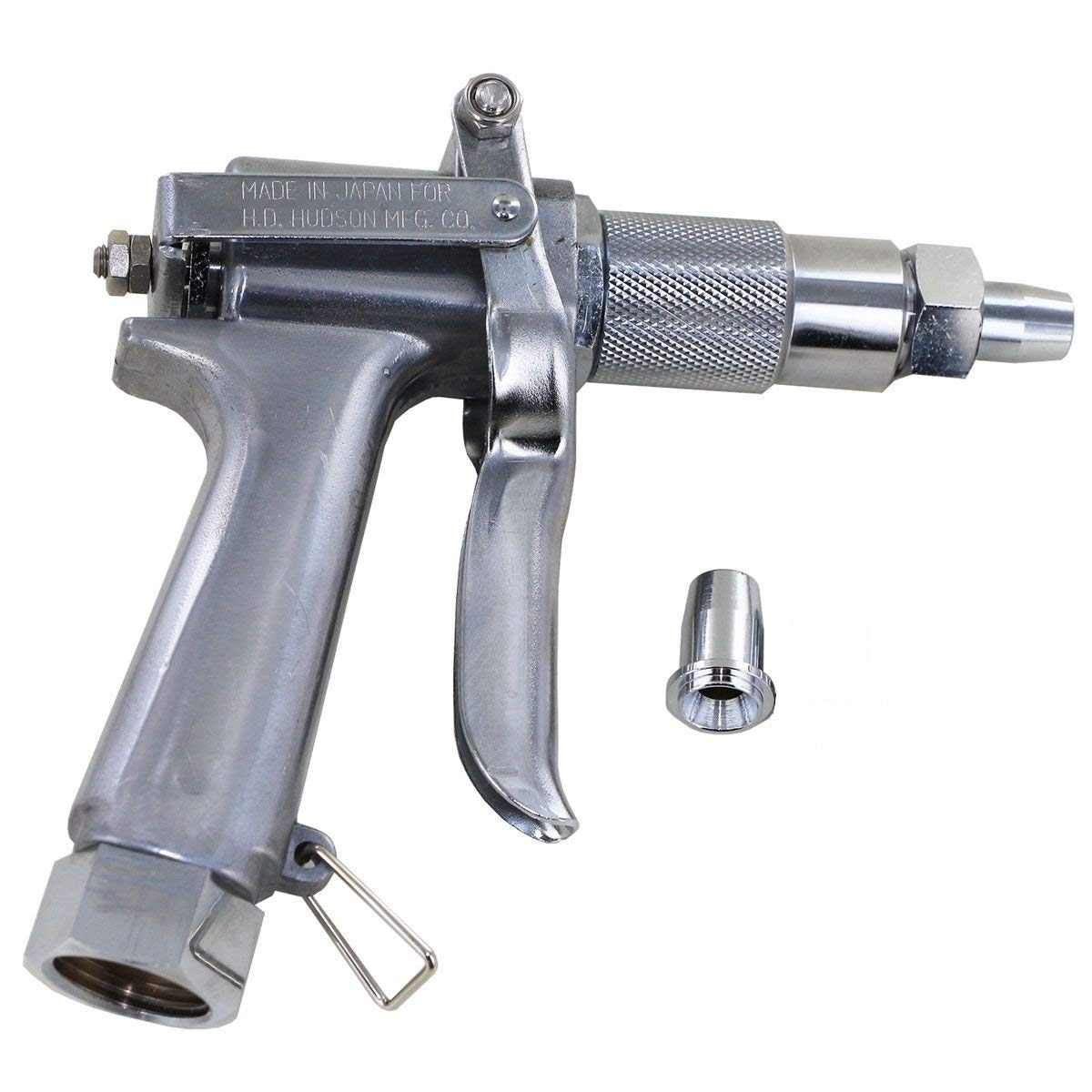 Green Garde JD9-C Spray Gun with Small and Medium Nozzle Bundle, 3 Items
