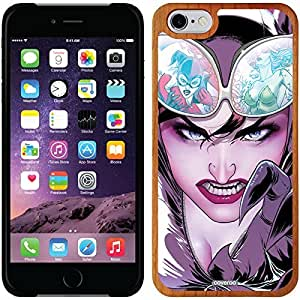 fashion case iphone 5c Madera Wood Thinshield Case with Catwoman Design