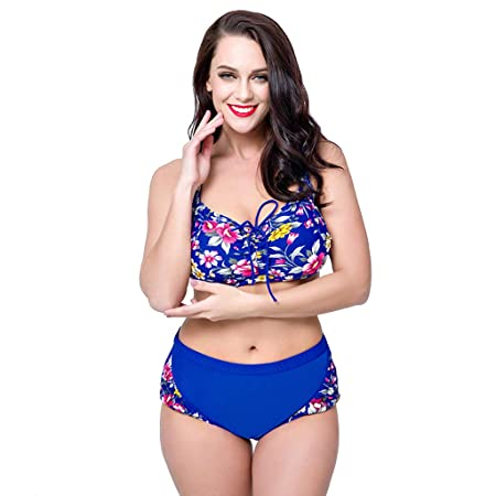 MAKAFJ Bikini para Mujer Traje de baño de Dos Piezas Tallas ...