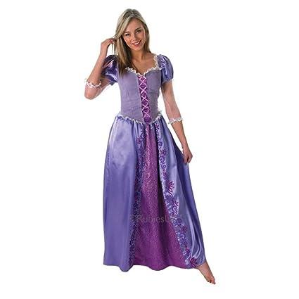 Rubies Disfraz Oficial de Rapunzel, Princesa de Disney para Adulto, Grande