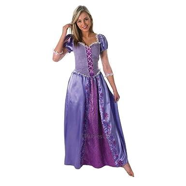 Amazon Com Rubie S Costume Disney Rapunzel Costume Adult Medium