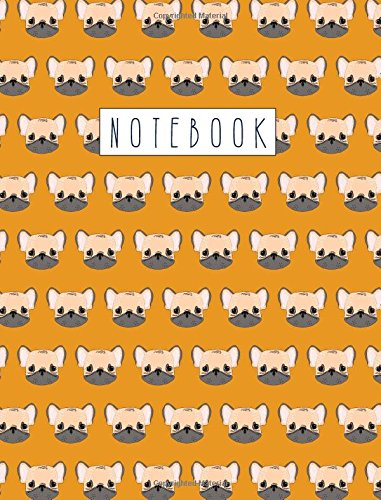Download Notebook: French Bulldog Composition Book - Single Subject College Ruled Notebook - For School, Note Taking, Journaling PDF