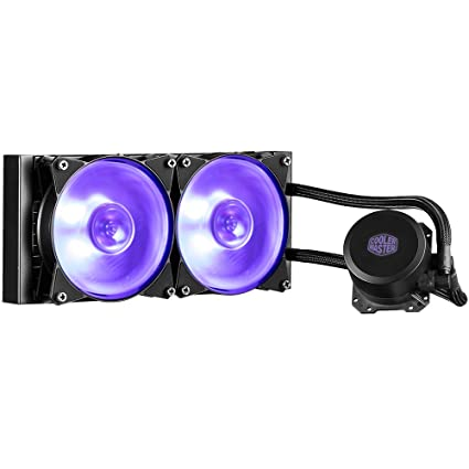 Cooler Master MasterLiquid ML240L RGB Water Cooling Systems at amazon