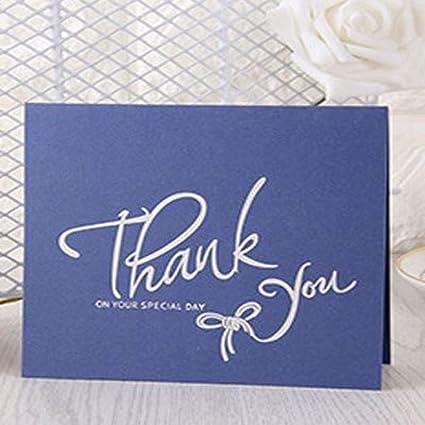 Amazoncom Batop 1pc Thank You English Art Words Folding Blessing