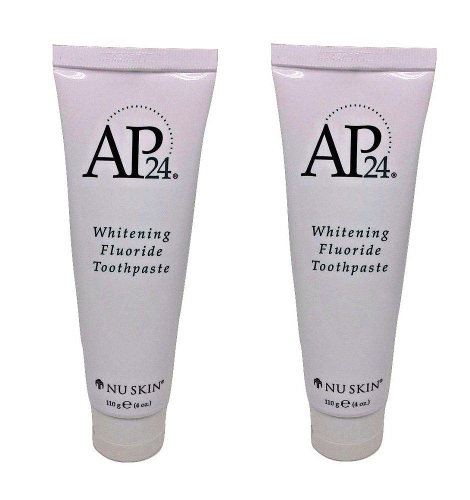 Nu Skin Fesjsv Ap 24 Whitening Fluoride Toothpaste, 4 oz, 2 Pack