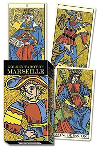 Golden Marseille Tarot: Lo Scarabeo: 9780738759456: Amazon ...