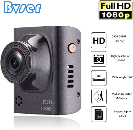 VIKEWE Dash Cam – 1.5 Mini Dashboard Camera Compact Design 1080P Ultra HD Car Driving Recorder, G-Sensor, 170 Wide Angle, Motion Detection and Loop Recording