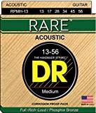 DR Strings Rare - Phosphor Bronze AcousticHex Core 13-56