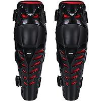Rodilleras (38 x 10 cm, ajustables, cómodas para todo tipo de terreno, carreras, bicicletas, motocross y monopatín, 1…