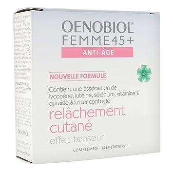 oenobiol femme 45 anti age relachement cutane