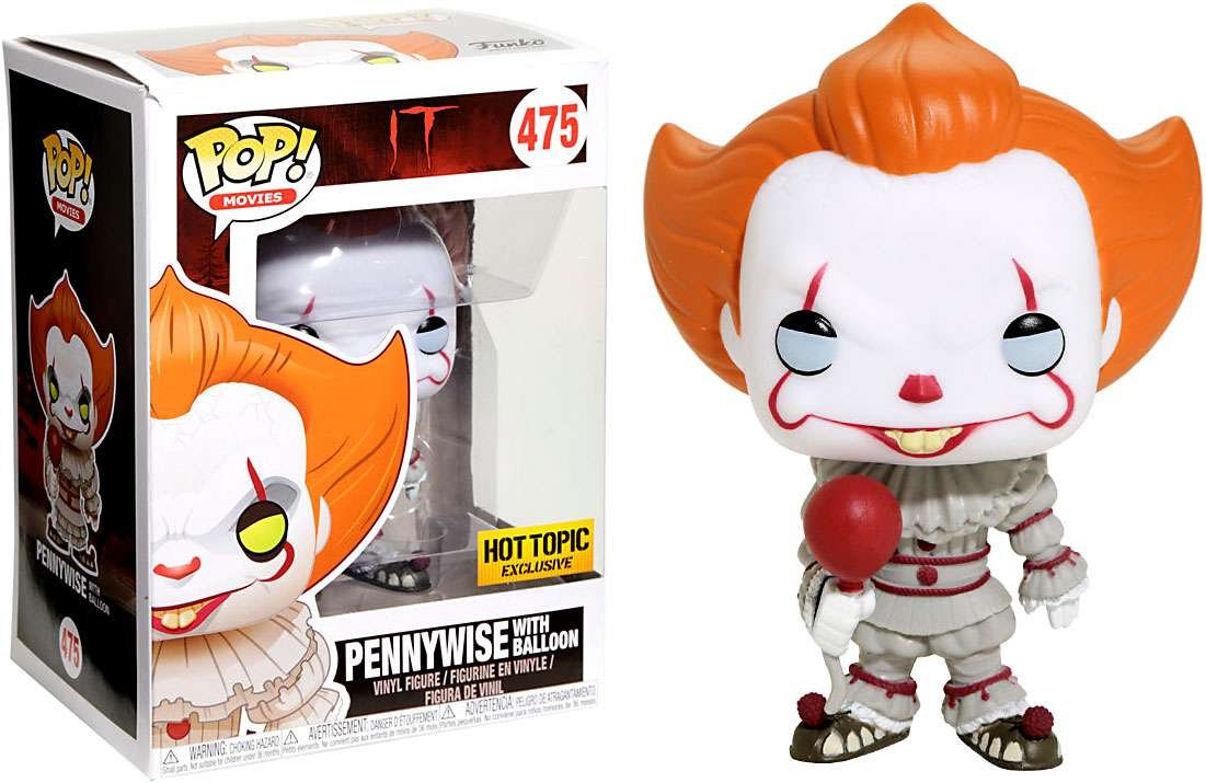 Funko Pop Stephen King It Pennywise Exclusive with red ...