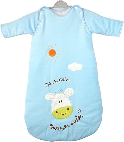 KaWaii Baby All Seasons Baby Sleeping Bag with Removable Sleeves Newborn-Toddler