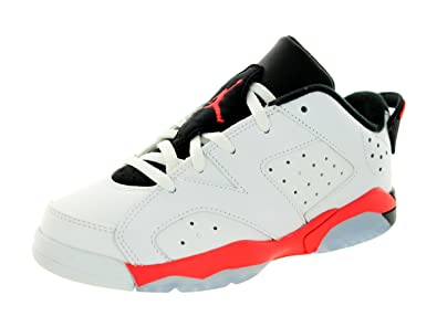 Nike Jordan Kids Air Jordan 6 Retro Low (PS) WhiteInfrared 23-