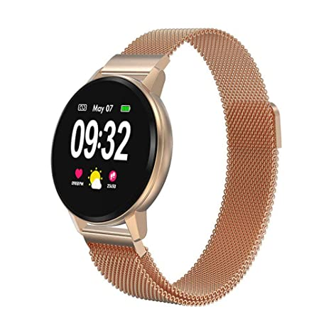 Amazon.com: Reloj inteligente S01 con monitor de frecuencia ...