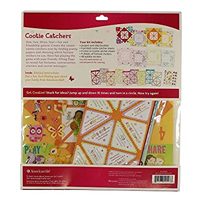 American Girl Cootie Catcher Paper Craft Kit for Girls, 164 pc: Arts, Crafts & Sewing