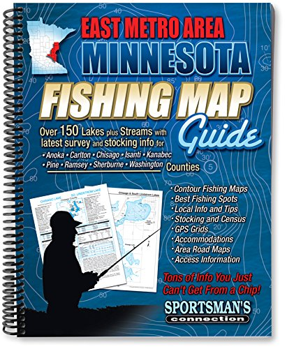 East Metro - Central Minnesota Fishing Map Guide