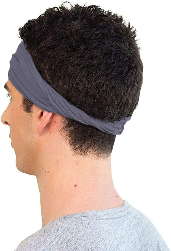 Yoga and Sports Ideal Mens Headband for Working Out KOOSHOO Organic Headband for Men Proudly Made in The USA While Paying Fair Wages