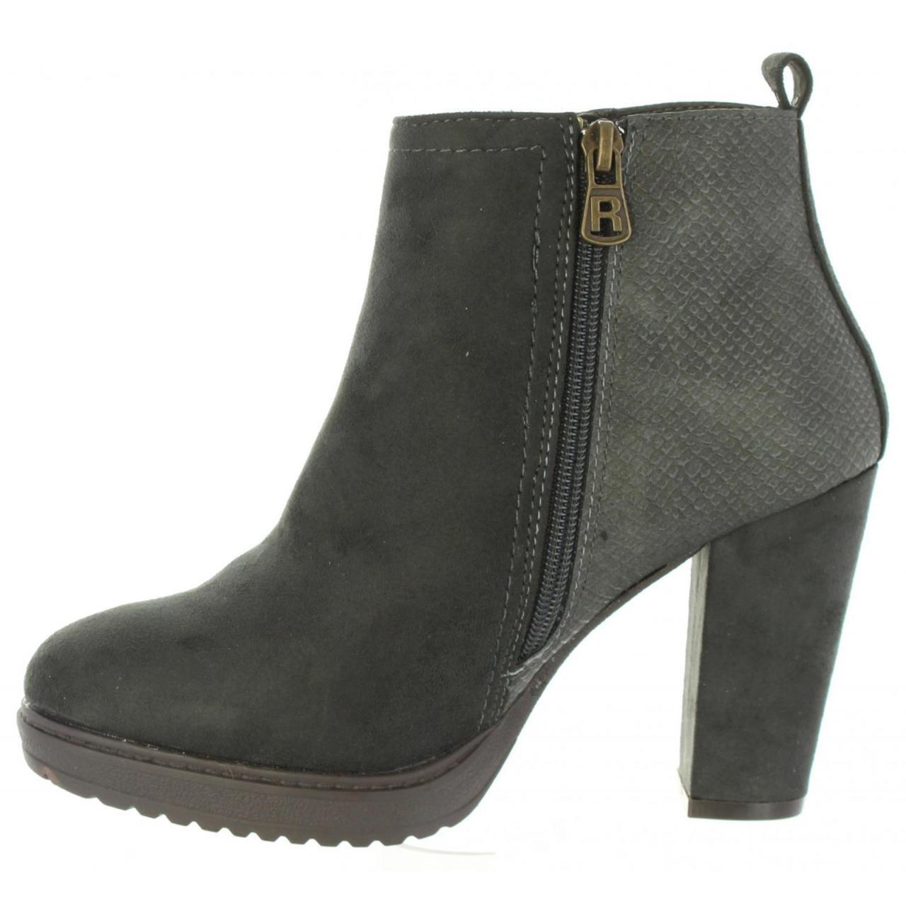 Refresh Stiefel für Damen 63704 63704 63704 C grau 27f770