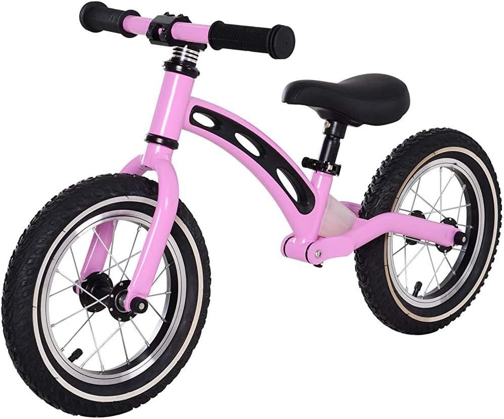 EVA neumáticos de bicicletas en equilibrio con 12 pulgadas pedales de la bicicleta asiento ajustable sin,Purple