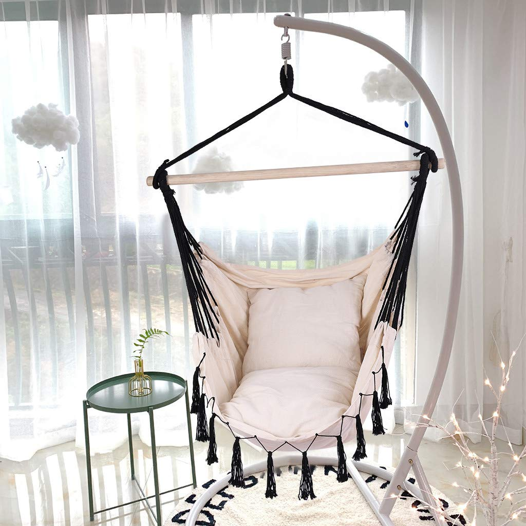 Swing with Cotton Fabric for Living Room Garden Sea Lifts Superior Comfort Durability 15.7in/×15.7in