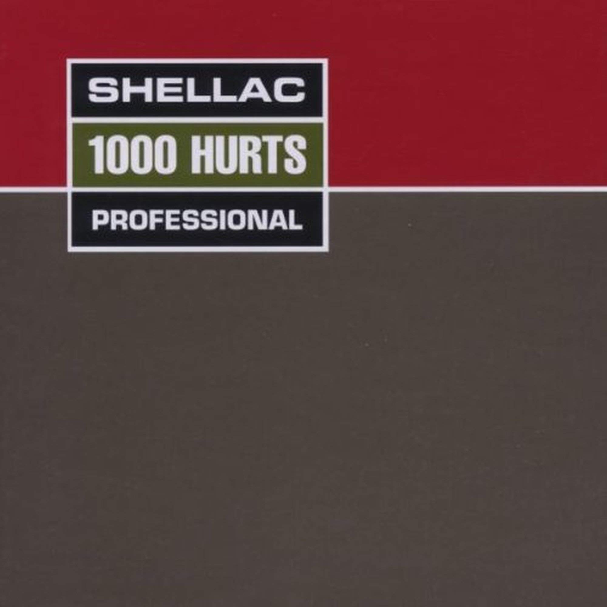 1000 HURTS [Vinyl] by TOUCH & GO