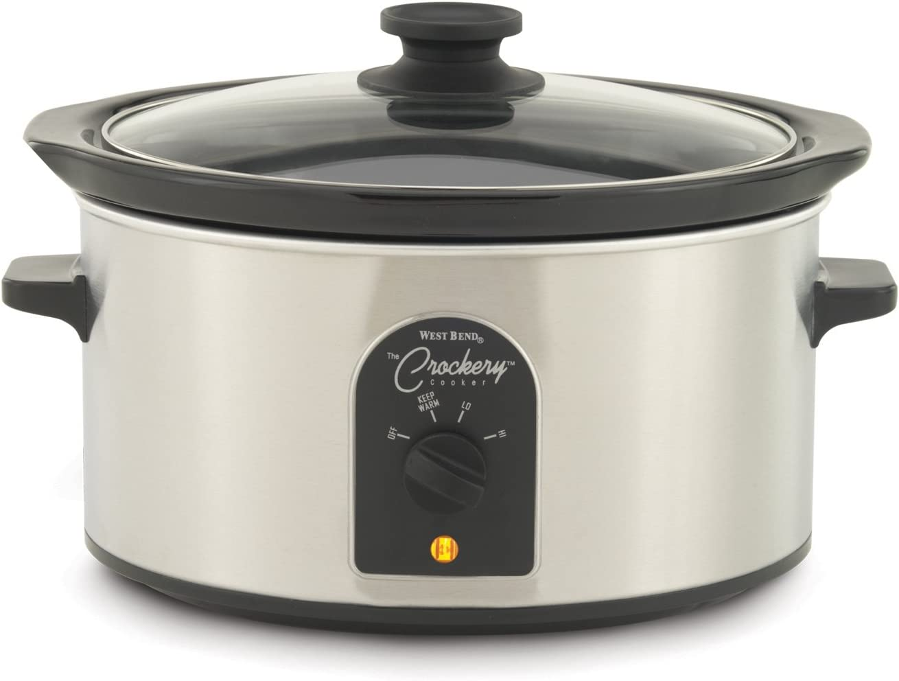 West Bend 84384 4-Quart Oval-Shaped Crockery Cooker (Discontinued by Manufacturer)