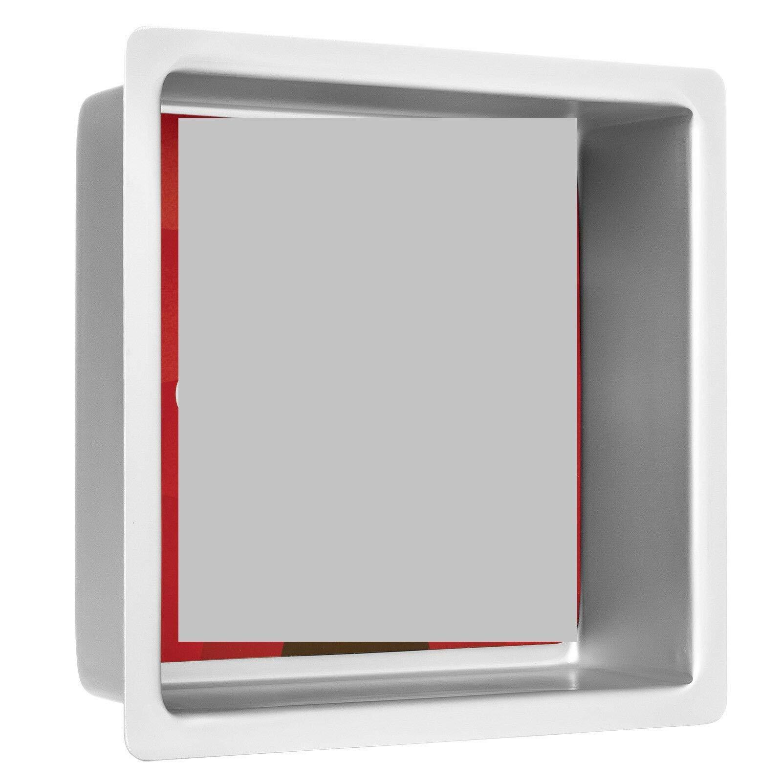 1 Pcs Professional Rectangular Aluminum Sheet Cake Pan 8 x 8 x 3 Inch #MWMN