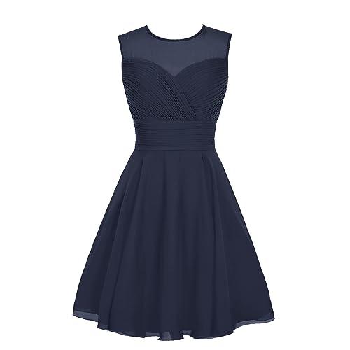Short Navy Blue Bridesmaid Dresses | Navy Short Bridesmaid Dresses Amazon Com