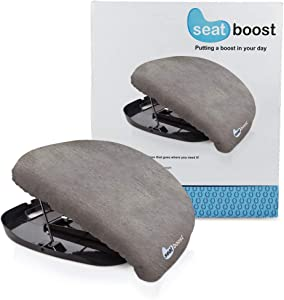 Stand Assist Aid for Elderly - Lifting Cushion by Seat Boost - Portable Alternative to Lift Chairs - Handicap Mobility Help for 70% Support Up to 340