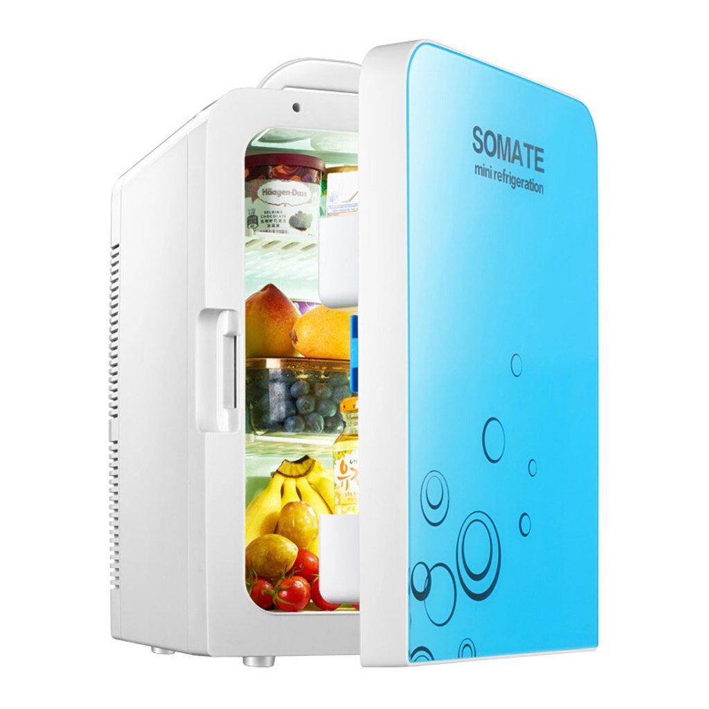 BX- ミニ冷蔵庫 - 20Lコンパクト冷蔵庫、30 x 330ml缶  (色 : 青)  青 B07L1NKWYR