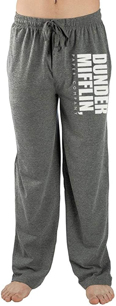 The Office Mens Dunder Mifflin Paper Company Pants