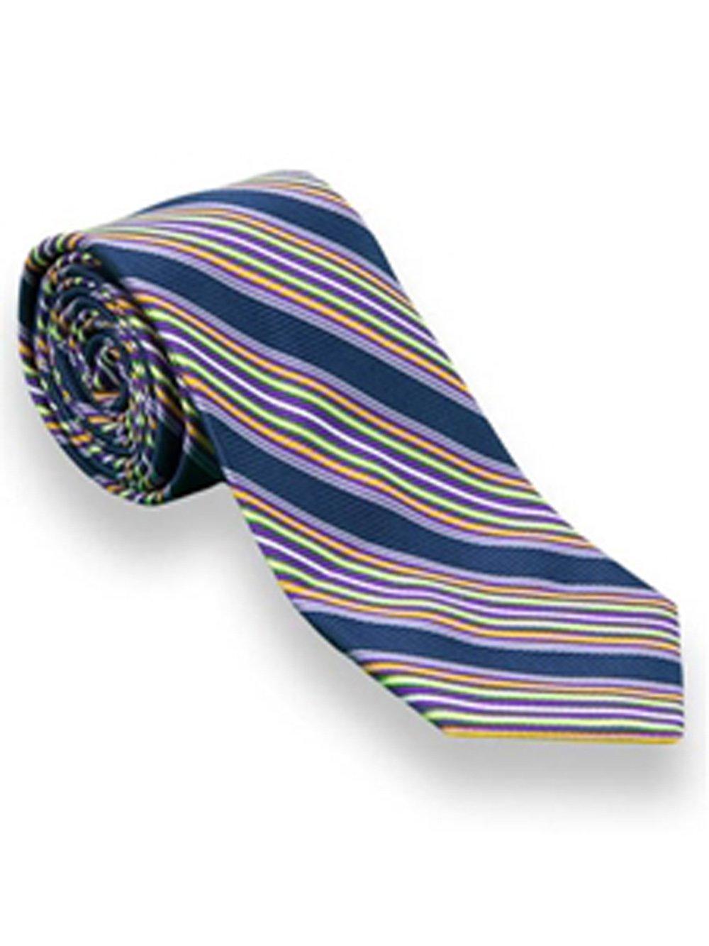 Robert Talbott Purple Striped American Traditional Best Of Class Tie