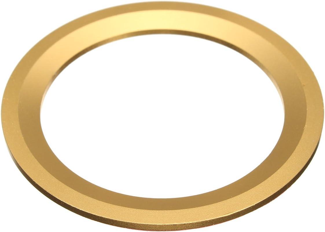 Rosenrot Viviance Car Steel Ring Wheel Center Decoration Ring Cover Fit F/ür BMW 1 3 4 5 7Er
