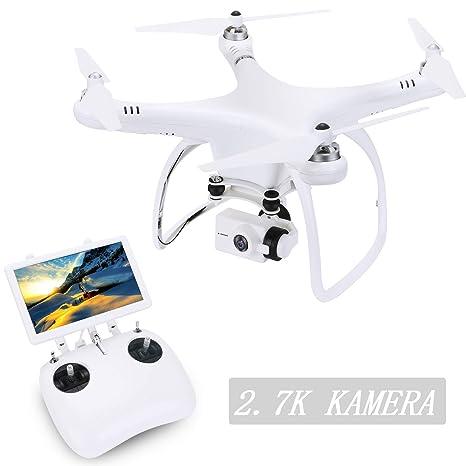 upair One dron cuadricóptero con cámara de vídeo Full HD de 2.7 K ...